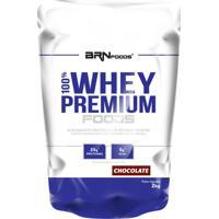 100% Whey Premium Foods 2Kg Chocolate – Brn Foods