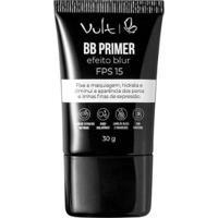 Primer Facial Vult Bb Feito Blur Fps 15 30G - Feminino-Incolor