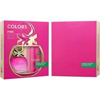 Kit Perfume Feminino Colors Pink Benetton Eau De Toilette 80Ml + Desodorante 150 Ml - Feminino-Incolor