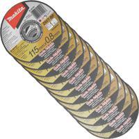 Disco De Corte Fino Inox Makita, 115 Mm - B-49797- 12 Unidades