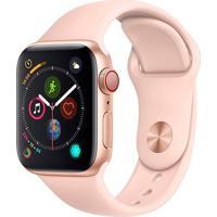 Smartwatch Apple Watch Series 4 40Mm Cellular Alumínio Rosa Mtvg2