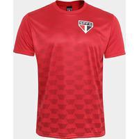 Camiseta São Paulo Hexagonal Masculina - Masculino