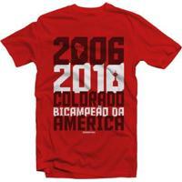 Camiseta Inter Bicampeão Da América Masculino - Masculino