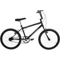 Bicicleta Aro 20 Aço Carbono V-Break Direção Standard Rígido Preta Ultra Bikes - Unissex