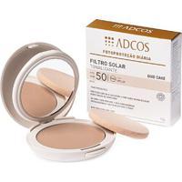 Filtro Solar Adcos Tonalizante Duo Cake Fps 50 Nude 10 G