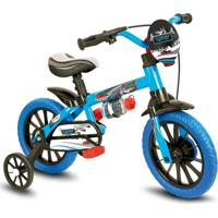 Bicicleta Juvenil Nathor Veloz Azul