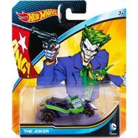 Carrinho Hot Wheels - Personagens Dc Comics - Coringa - Mattel - Masculino