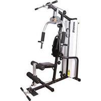 Estação De Musculação Perform W2 Com 16 Opções De Exercícios - Branco/ Preto