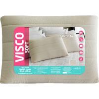 Travesseiro Visco Soft- Branco- 65X45Cm- Santistsantista