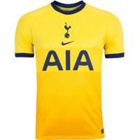 Camisa Tottenham Iii 20/21 Nike - Masculina - Amarelo