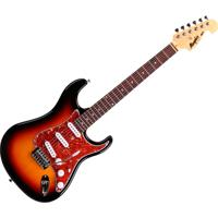 Guitarra Memphis By Tagima Mg-32, Corpo Basswood, Tarraxas Cromadas E Blindadas - Sunburst