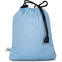 Travesseiro Almofada Apoio De Pescoço Visco Tr3 Infantil Plush Azul Bambino