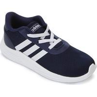 Tênis Infantil Adidas Lite Racer 2.0 - Unissex-Azul+Preto