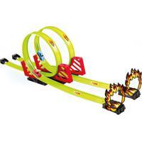 Super Pista Lançadora - 2 Carros - Street Rod - Toyng