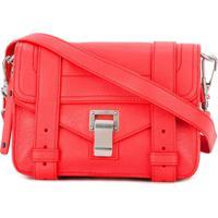 Proenza Schouler Bolsa Transversal Ps1 Mini - Vermelho