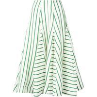 Rosie Assoulin Saia Com Listras - Verde