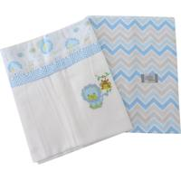 Cobertores E Mantas Minasrey Loupiot Classic Azul