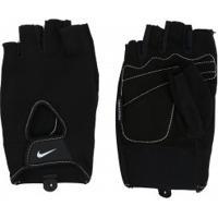 Luvas Para Academia Com Polegar Nike Fundamental Training - Adulto - Preto