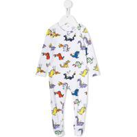Stella Mccartney Kids Pijama Com Estampa De Dragão - Branco