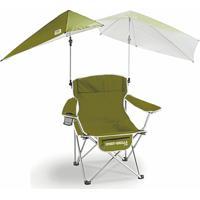 Cadeira Dobrável Com Guarda Sol Super Brella Chair Olive Green Sklz