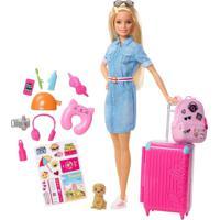 Barbie Viageira - Mattel - Tricae