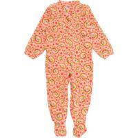 Pijama Tip Top Longo Menino Estampa Laranja