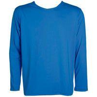 Camisa Térmica Plus Size Fator Proteção Solar Uv 50 Azul Piscina