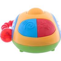 Brinquedo Dican Meu Primeiro Mouse Amarelo E Azul Multicolorido