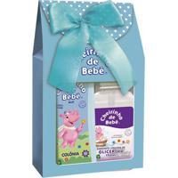 Kit Cheirinho De Bebê Colônia 210Ml E Sabonete Líquido 250Ml Blue