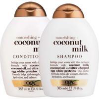 Kit De Shampoo & Condicionador Coconut Milk- 385Ml- Johnson Johnson