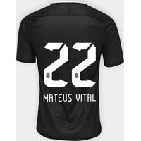 Netshoes  Camisa Corinthians Ii 17 18 Nº 22 Mateus Vital - Torcedor Nike  Masculina - Masculino b3eac103b9d