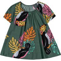 Blusa Infantil Feminina Verde