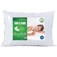 Travesseiro Altenburg Sono & Sade Kids Branco - 50Cm X 70Cm Branco