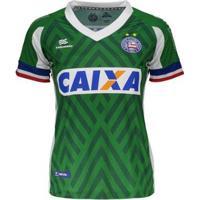 Camisa Esquadrão Bahia Ii 2018 Goleiro Feminina - Feminino