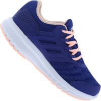 Tênis Adidas Galaxy 4 K - Infantil - Azul Escuro