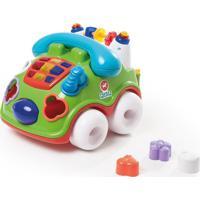Brinquedo Calesita Fala Fone Verde