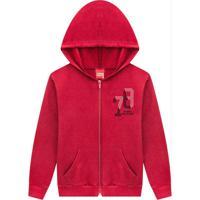 Casaco Infantil Masculino Vermelho