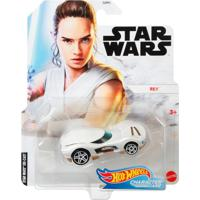 Carrinho Star Wars Hot Wheels Rey - Mattel