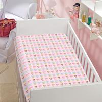 Manta Infantil Minnie E Margarida Disney Soft Poliéster Microfibra Jolitex 0,90Mx1,10M Rosa