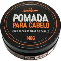 Beard Brasil - Pomada Para Cabelo 140G - Unissex-Incolor