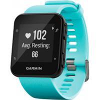 Monitor Cardíaco Com Gps Garmin Forerunner 35 - Azul Claro/Preto