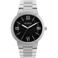 Relógio Feminino Euro Eu2035Ymw/3K Aço - Feminino-Prata