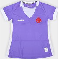 Netshoes  Camisa De Goleiro Vasco Ii 19 20 - Torcedor Diadora Feminina -  Feminino 722096fa4da69