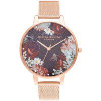 Relógio Olivia Burton Feminino Aço Rosé - Ob16Wg80