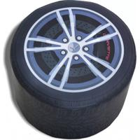 Pufe Roda Corvette - Gm - Cama Carro
