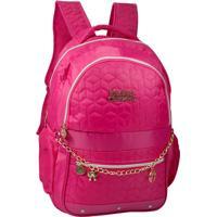 Mochila Notebook Penelope Charmosa Mj48264Pe Pink