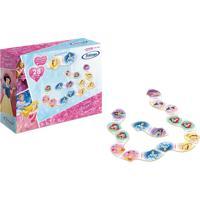 Jogo Dominã³ Princesas Disney Xalingo - Rosa - Dafiti