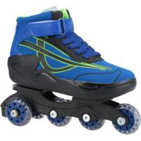 Patins Oxer Roller Boot - In Line - Azul/Preto