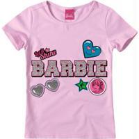 Blusa Lilás Barbie® Malha
