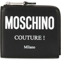 Moschino Carteira Com Logo Couture! - Preto
